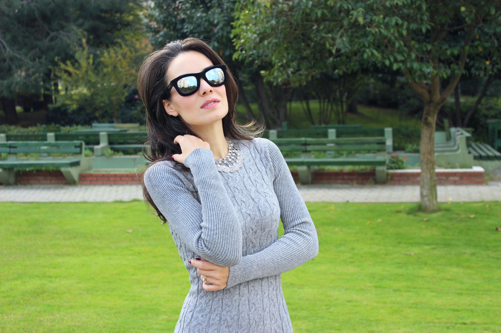 stefanel, stefanel turkiye, örgü elbise trendi, örgü ve triko modelleri, örgü elbise nasıl giyilir, uzun triko yelek, yün çanta