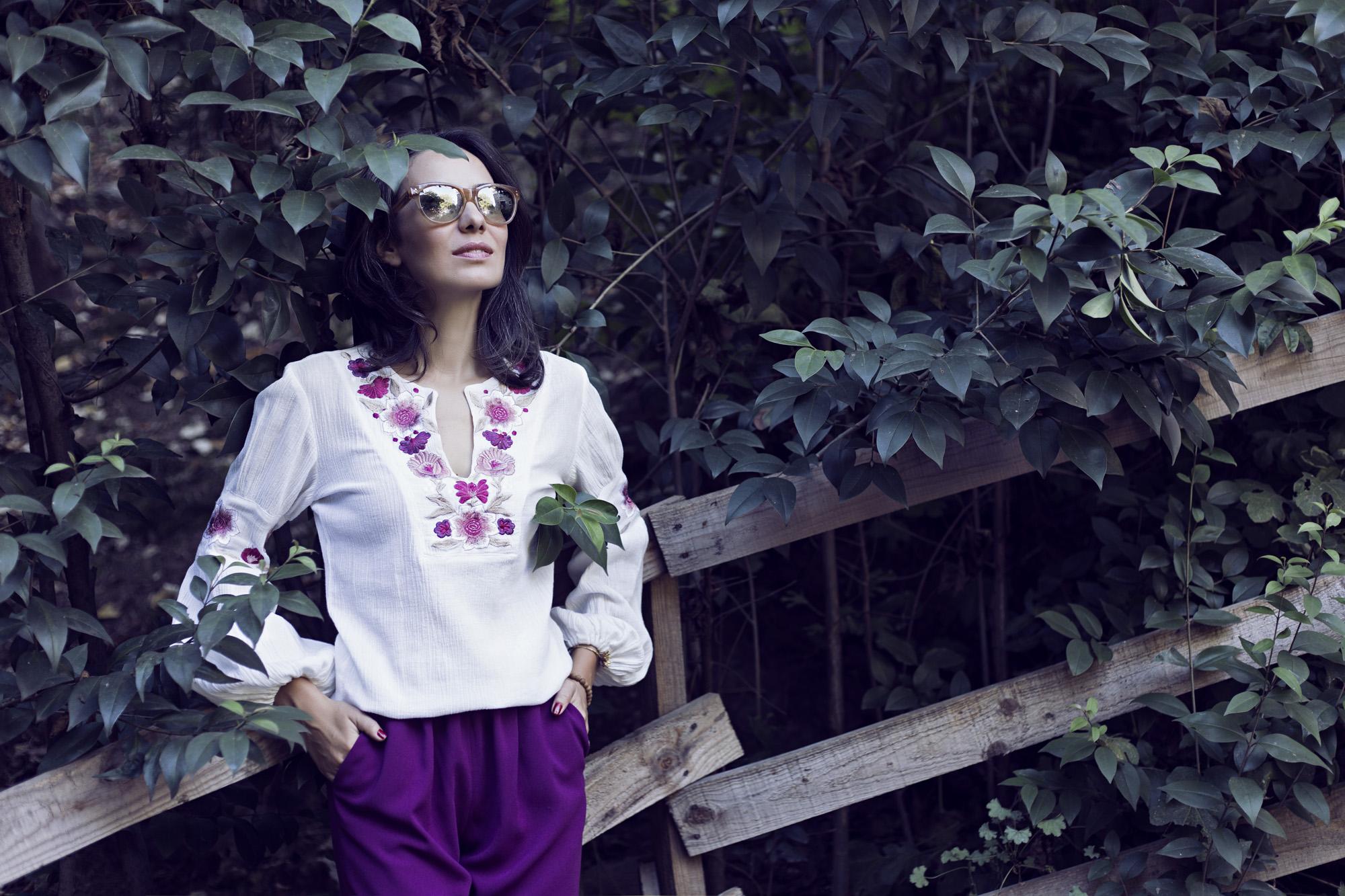 morgan de toi, ebru karabayır, şalvar pantolon modelleri, nakışlı bluz modelleri, hippi stili, hally&son, styleboom for morhipo