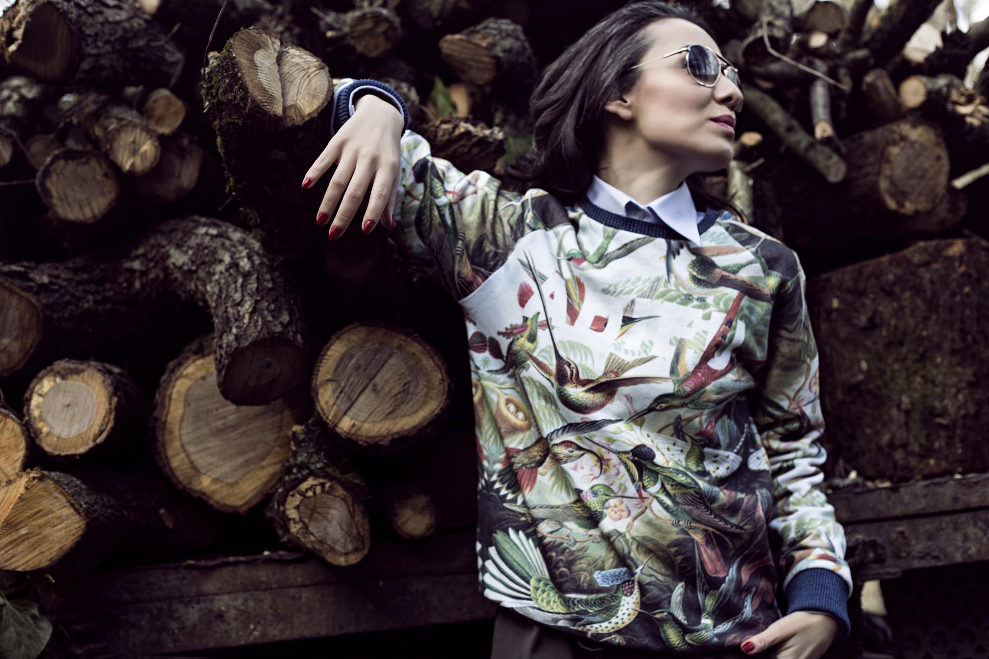 woods boho vesper sweatshirt