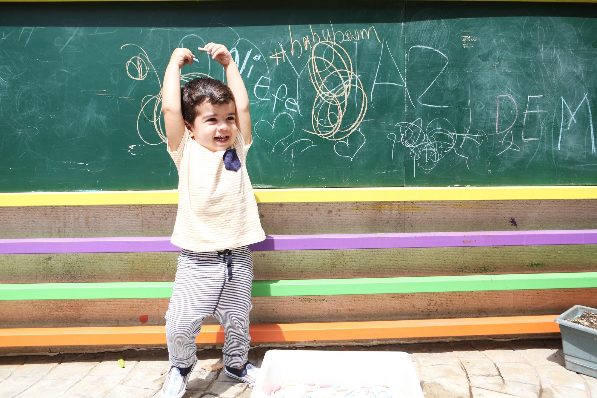 new school ataşehir bahçe