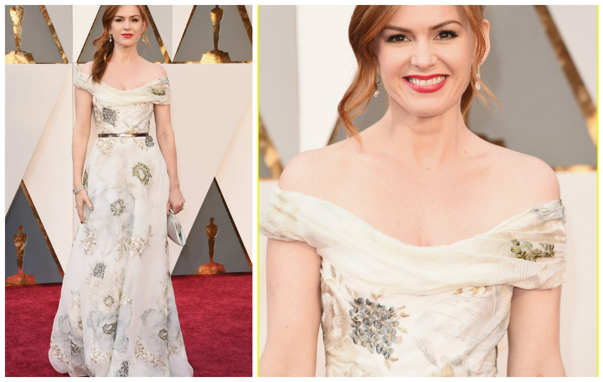 Isla Fisher - Marchesa