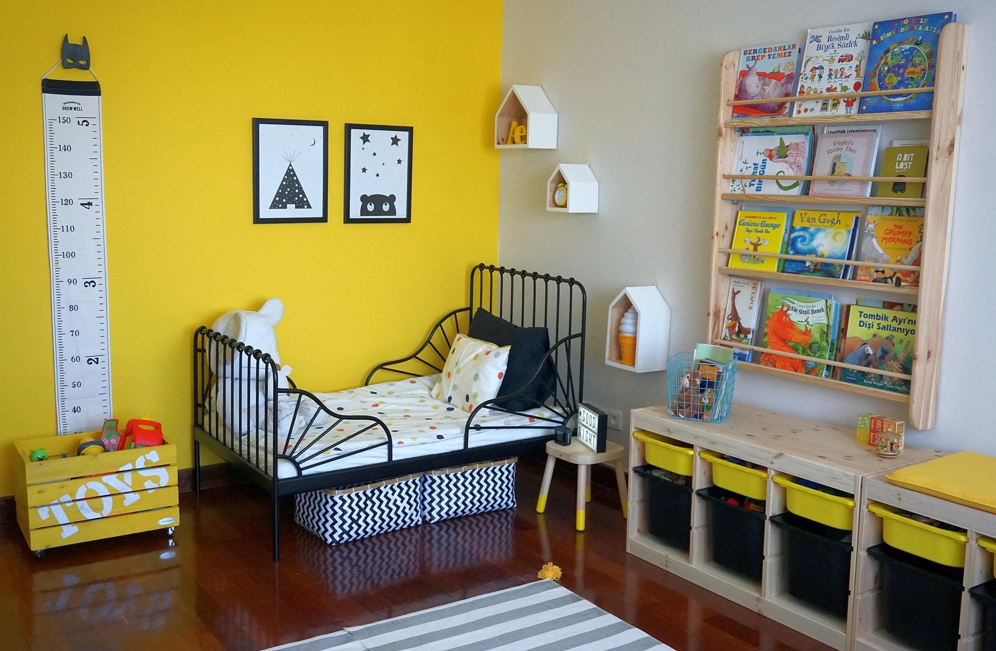 çocuk odası iskandinav stili