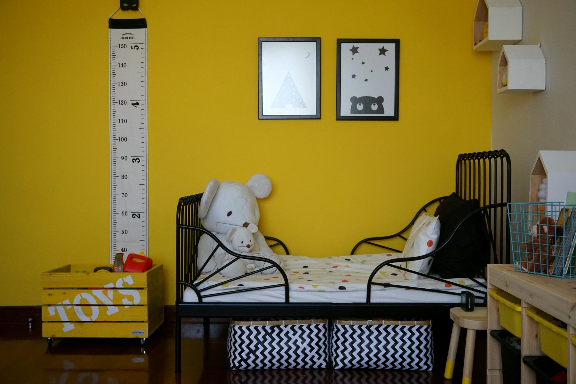 çocuk odası karyola