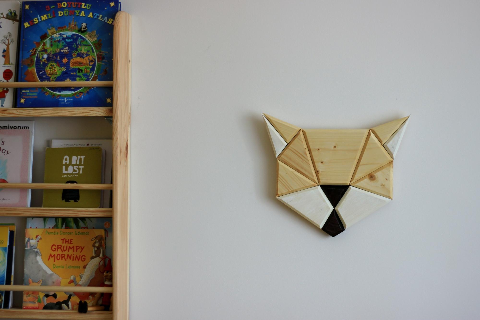 çocuk odası kitaplık tahtamania