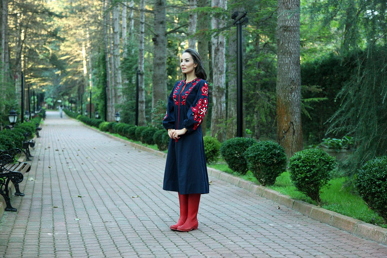 ng sapanca sonbahar zara folk elbise