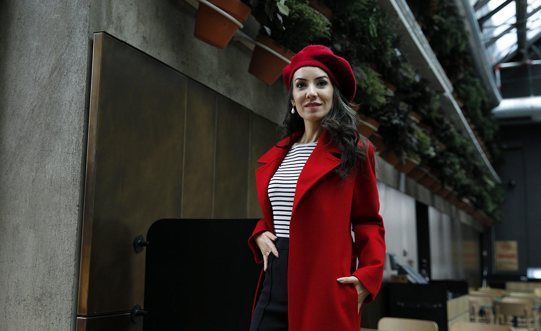 mimya parizyen stili  kırmızı palto 03