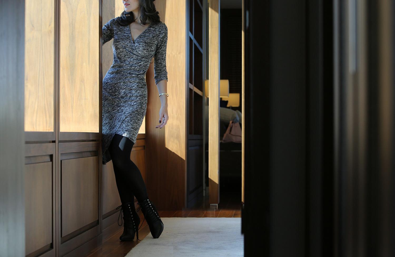 bonprix-yün-elbise