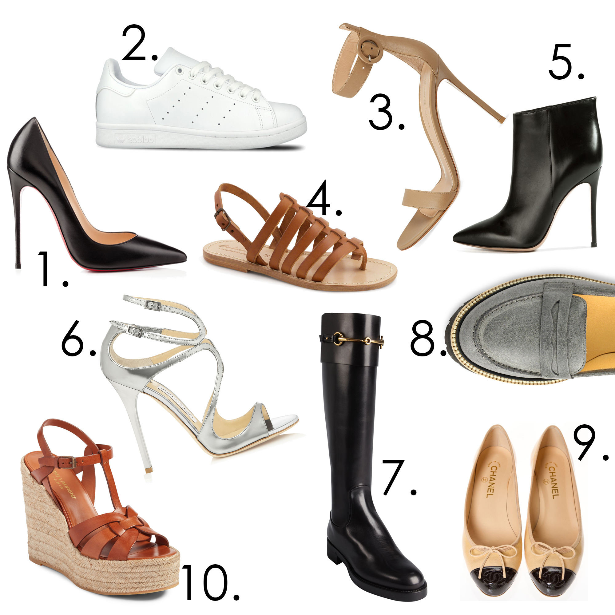 10musthaveshoes