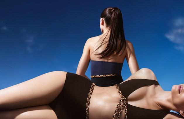 yüksek bel bikini