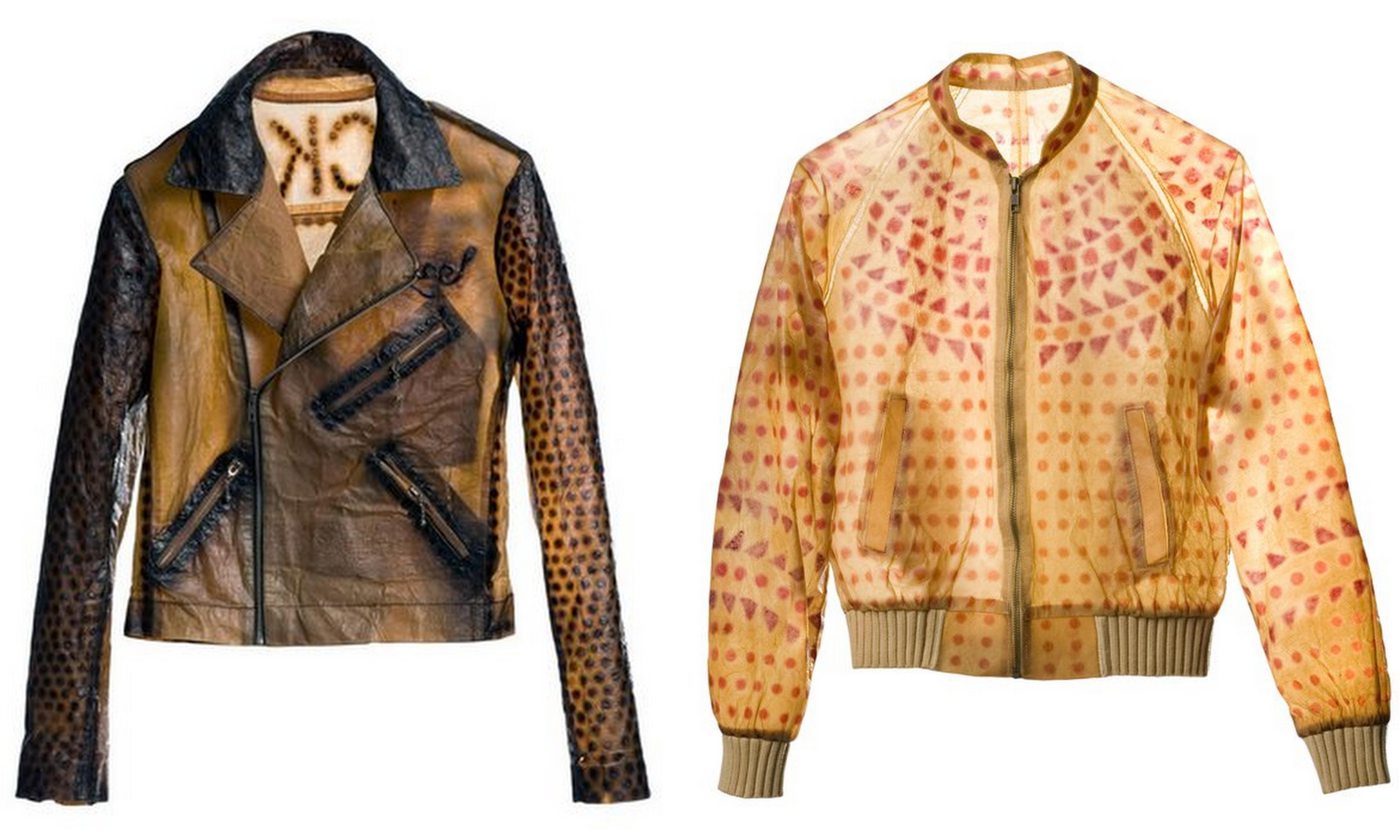 Suzanne Lee'nin labaratuvarda yetişen ceketleri