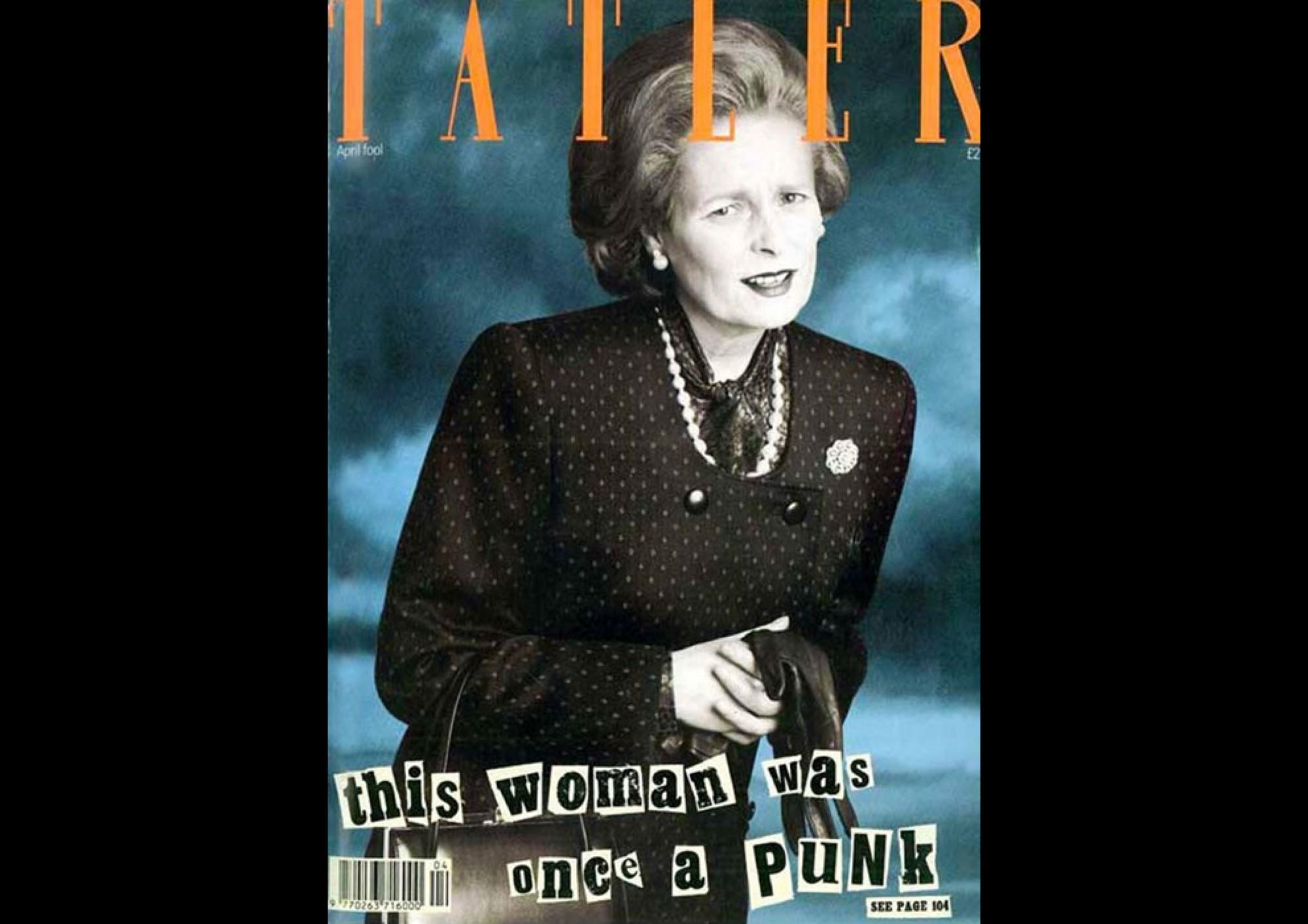 04 Vivienne Westwood Tatler kapağında