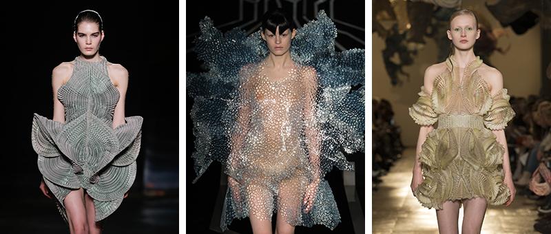 Iris van Herpen 2016-2018 couture defileleri