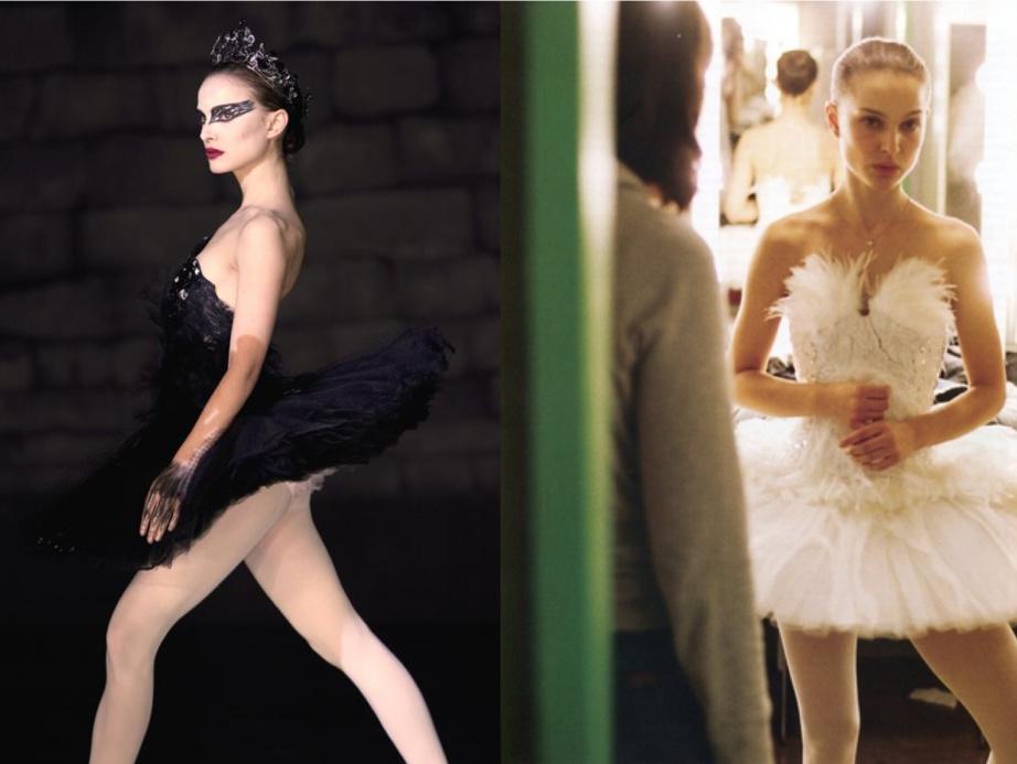 11 Black Swan filmi için Rodarte tarafından hazırlanan beyaz ve siyah kuğu kostümleri