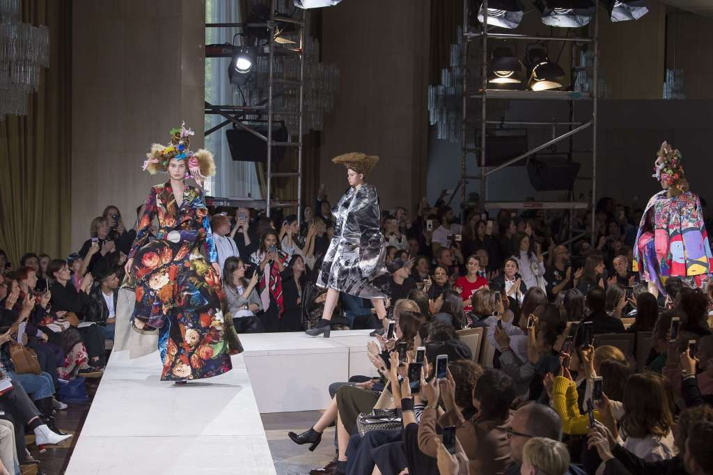 Comme Des Garcons show, Runway, Spring Summer 2018, Paris Fashion Week, France - 30 Sep 2017