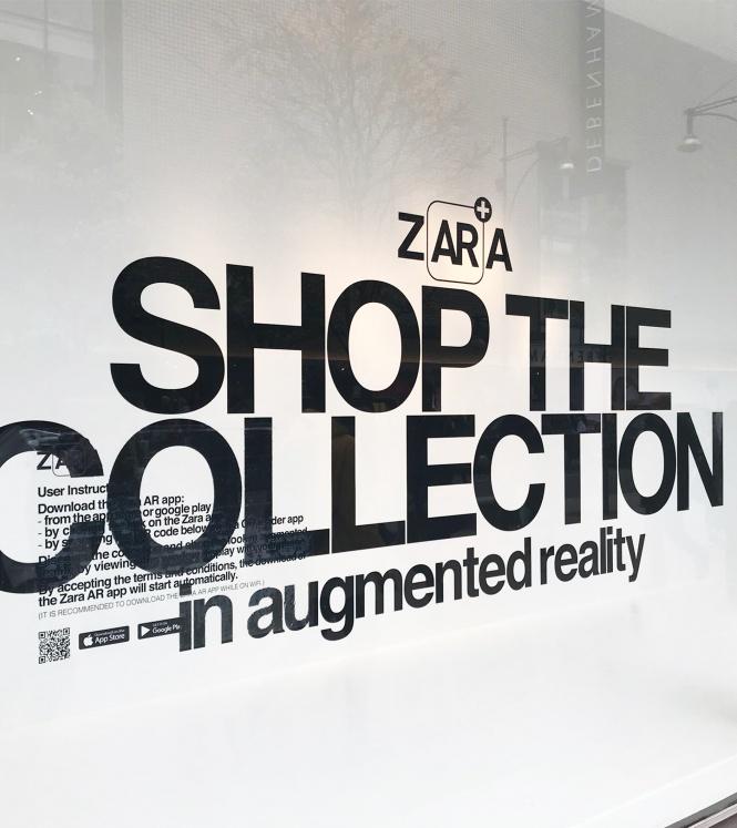 04 Zara AR aplikasyonu ile kıyafetler 3. boyutta vücut buluyor